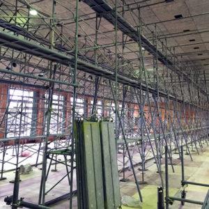 堺市 体育館の屋根改修工事